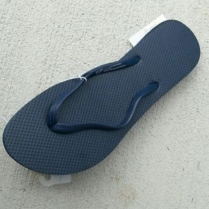 Mossimo Supply Co. Shoes - Mossimo comfortable flip flop sandals Navy Blue